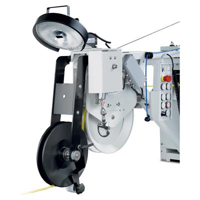 Tecsan Inspección de tuberías y pozos Sistema modular Tambores de cable Tambor de cable automatico KW 505