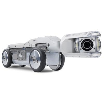 Tecsan Inspección de tuberías y pozos Sistema modular Tractores de cámara Carro de tracción intermedio T76 orpheus