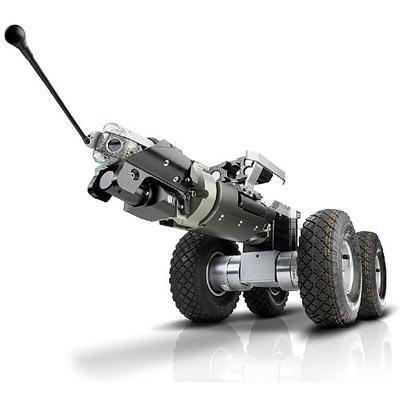 Tecsan Inspección de tuberías y pozos Sistema modular Tractores de cámara Carro de traccion T86