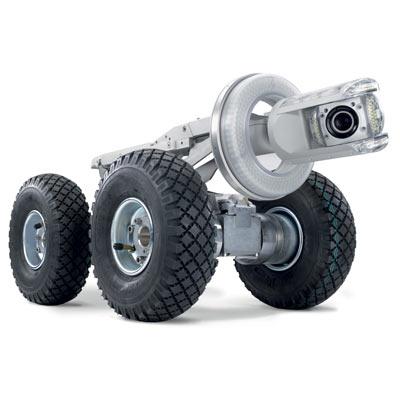 Tecsan Inspección de tuberías y pozos Sistema modular Tractores de cámara Carro de traccion T86 orpheus