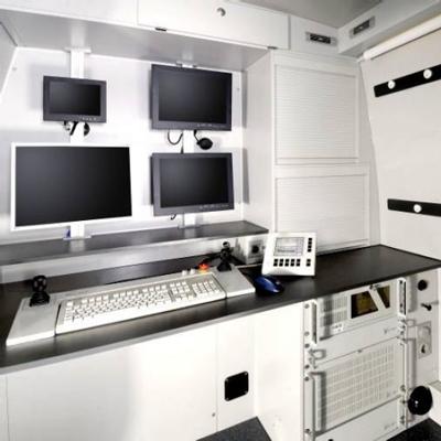Tecsan Inspección de tuberías y pozos Sistema modular Unidades de control Unidad de control para vehiculos BS 5