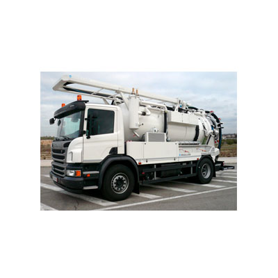 Tecsan Limpieza de tuberías Camiones de limpieza Canalmaster Camiones de limpieza Canalmaster camión de limpieza Canalmaster