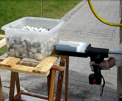 Tecsan Rehabilitación de tuberías Puntual Resifill+Harz8 Sellador de fugas de agua en tuberias Resifill+Harz8
