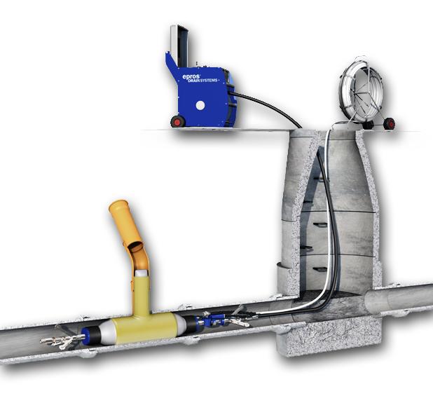 Tecsan Rehabilitación de tuberías Puntual Sombreretes (LCR) Sistema lcr Sombreretes (LCR)
