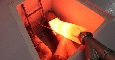 Curado de resina con ultravioleta. Rehabilitación de tuberías