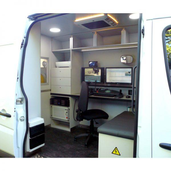 unidad móvil para inspección de tuberías-tecsan