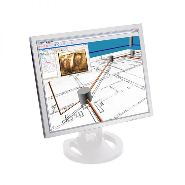 Software de inspección para análisis de canalizaciones. Tecsan Ibak