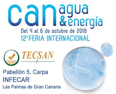 feria internacional canagua&energía 2018 Tecsan