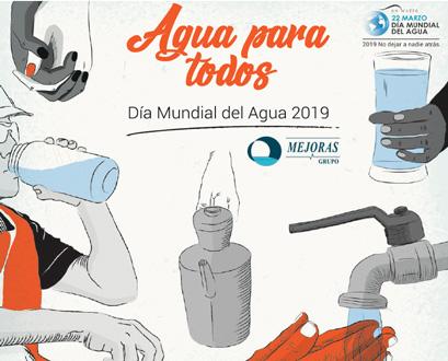Día mundial del agua 2019 Mejoras Grupo Tecsan