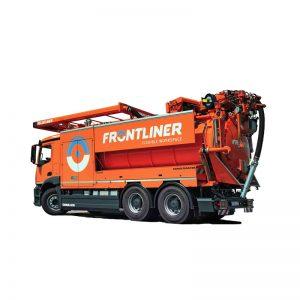 Camiones de limpieza de tuberías por agua a presión