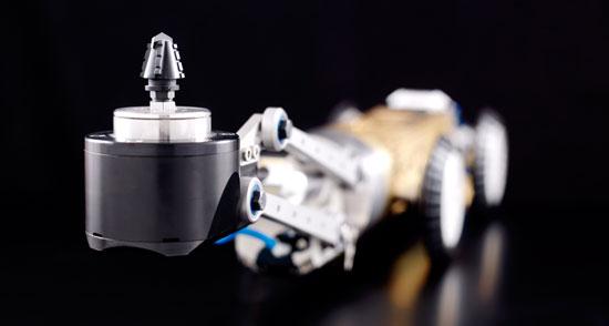 robot de fresado de tuberías